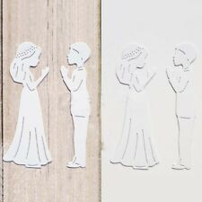 Boy and Girl Metal Cutting Dies Scrapbooking Embossing Paper Cards Album Crafts
