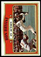 1972 Topps In Action Ron Bryant San Francisco Giants #186