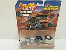 Hot Wheels ROVER MISSION TO MARS 3 Pc Set 1997 Toy