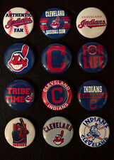 Cleveland Indians Baseball - Set of 12 Buttons (>Free Shipping<)