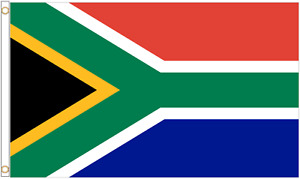 South Africa Polyester Flag - Choice of Sizes