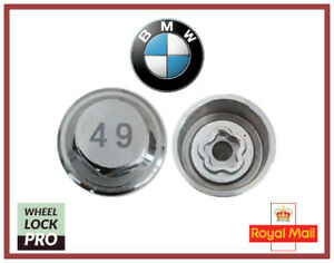New BMW Locking Wheel Nut Key Number 49 - UK Seller