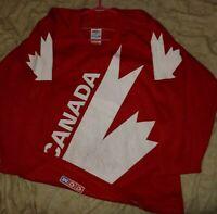 1991 Team Canada Hockey Original CCM Maska Jersey Size Small