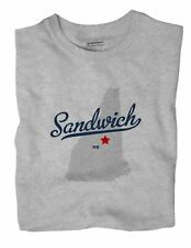 Sandwich New Hampshire NH T-Shirt MAP