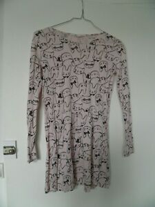 SUPERBE ROBE MOTIF ANIMAUX H&M FILLE TAILLE 8-10 ANS