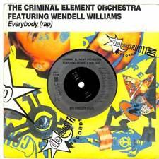 "Criminal Element Orchestra - Everybody (Rap) - 7"" Record Single"