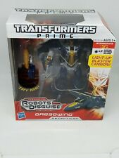 Transformers Prime Decepticon DREADWING Robots in Disguise - Sealed
