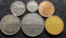 1980s  Nederland 5,10,25 Cent & 1,21/2 Gulden coin, 6pcs(+ FREE 1 coin) #D3531
