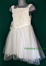 New MONSOON Age 10 Ivory Tulle FERN Party Bridesmaid Wedding Flower Girl Dress