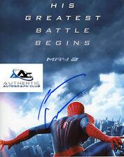 ANDREW GARFIELD AUTOGRAPH SIGNED 8x10 PHOTO AMAZING SPIDERMAN COA