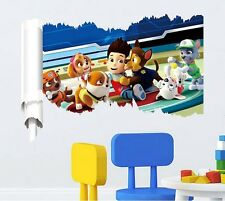 Paw Patrol Baby Nursery Kids Room Wall Stickers Decals