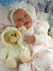 """Reborn Baby Puppe""""Chrissi""""Spielpuppe,Sammlerpuppe,Babypuppe,Reborn"""