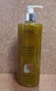SBC Propolis Skincare Moisturising Gel 500ml NEW Vitamin Mineral