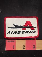 Vtg (circa 1970s) AIRBORNE Advertising Patch O80N