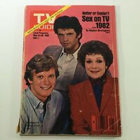 VTG TV Guide Magazine May 22-28 1982 - Lorenzo Lamas / Jane Wyman / David Selby