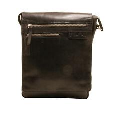 Rowallan - Noir Pittsburgh N/S SACOCHE EN HUILE bronzé BUFFALO cuir
