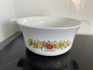 Vintage Corning Ware Casserole Dish L'Echalote 1.5 L, lovely condition, no lid