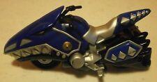 "Power Rangers-Dino Thunder-Blue Raptor Cycle-2003-3 1/2""-Bandai-1:64-Die Cast"
