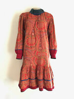 KENZO!!! Vintage 1980s 'Kenzo' paisley print dress / Made in France