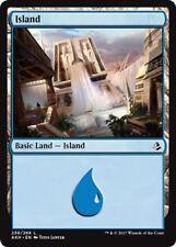 4 x Island (259/269) - Amonkhet - Magic the Gathering MTG Basic Land