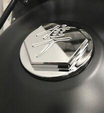 99-01-03-05-06-07 Hayabusa Custom Smooth Engraved Huge 3D Hex Gas Fuel Cap Lid!!