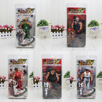Street Fighter IV Survival Mode Ryu Guile Ken Action Figure Collection Model Toy