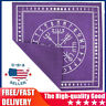 Triple Moon Pentagram Altar Tarot Cloth Divination Cards Wicca Velveteen 100% US