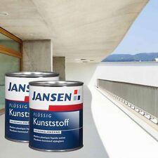 2 x Jansen Flüssig Kunststoff weiß 2,5l - Flüssigkunststoff Flüssiger Kunststoff