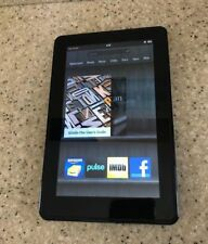 Amazon Kindle Fire 1st Generation 8GB Tablet D01400 Black Tested