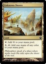MTG Magic THS - (4x) Unknown Shores/Rivages inconnus, English/VO