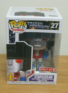 Funko Pop! Retro Toys ~ G1 Transformers # 27 Starscream ~ NIP VHTF Exclusive