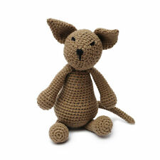 Brown Fox Handmade Amigurumi Stuffed Toy Knit Crochet Doll VAC