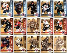 2009-10 UPPER DECK NATIONAL HOCKEY CARD DAY Complete 15 Card Insert Set Lot RC