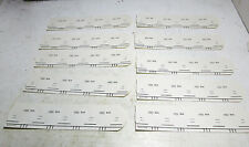 40 Round Number Cards for Rotary Telephones E4203-Gnyh - Bell System 914