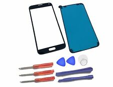 Samsung Galaxy S5 G900 Front Glass Screen Replacement Repair Kit Black