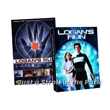 Logan's Run: Movie + Complete 1970s Sci-Fi TV Series Season 1 Box/DVD Set(s) NEW