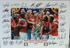 2000s Soccer Memorabilia Signed Prints