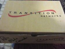 TRANSITION NETWORKS J/RS232-CF-01 Media Converter NEW in BOX
