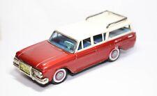 Bandai 1961 Nash Rambler Station Wagon - Excellent Tinplate Friction Model Rare