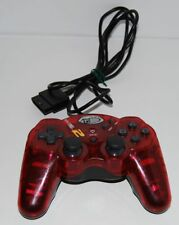 Manette Madcatz Dual Force Rouge Transparent PS2 .