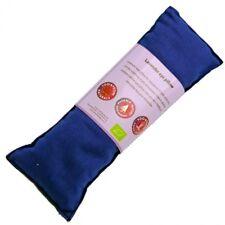 Blue Lavender Eye Pillow, Organic Cotton. Size 22cm x 8cm