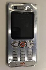 Sony Ericsson W880i Handy Silber GSM Telefon