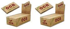 Lot de 50 paquets de 100 feuilles à rouler ocb double, chanvre bio organic