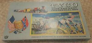 USA MADE HO TYCO BLUE AND GREY CENTENNIAL TRAIN SET Grey Train w/ General engine