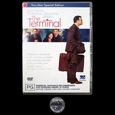 The Terminal (DVD) R4 - Tom Hanks - Catherine Zeta-Jones - COMEDY - ROMANCE