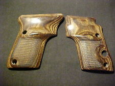 Beretta 3032 & Model 21 Tomcat/Alleycat/Bobcat Walnut Checkered Pistol Grips NEW