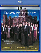 Downton Abbey: Season 3 (Blu-ray Disc, 2013, 3-Disc Set) like new