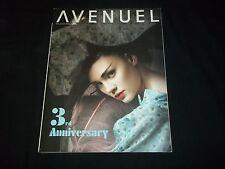 2008 APRIL AVENUEL KOREA MAGAZINE - 3RD ANNIVERSARY - FASHION MODELS - F 2335