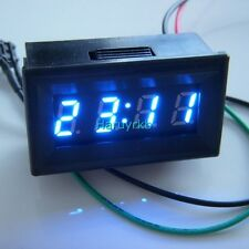 "0.30"" Digital LED Panel Time Clock Watch for DC 12V 24V Car Auto Motor E-bike B"