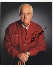ROGER PENSKE HAND SIGNED 8x10 COLOR PHOTO+COA     LEGENDARY NASCAR OWNER